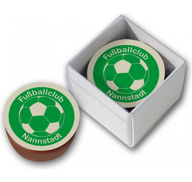 1er Logopraline Fussball
