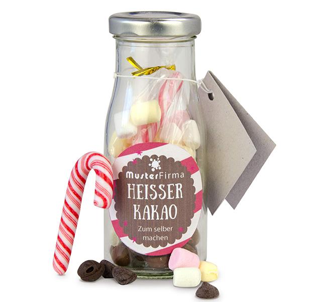 DIY Flasche Heisser Kakao