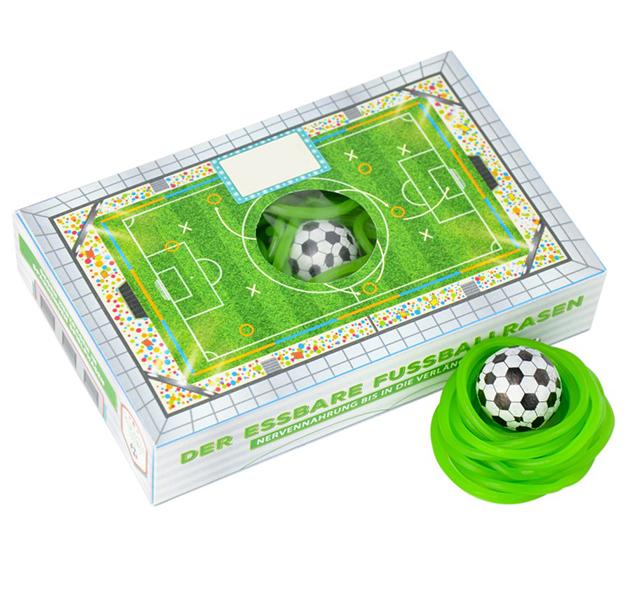 Box Essbarer Fussballrasen