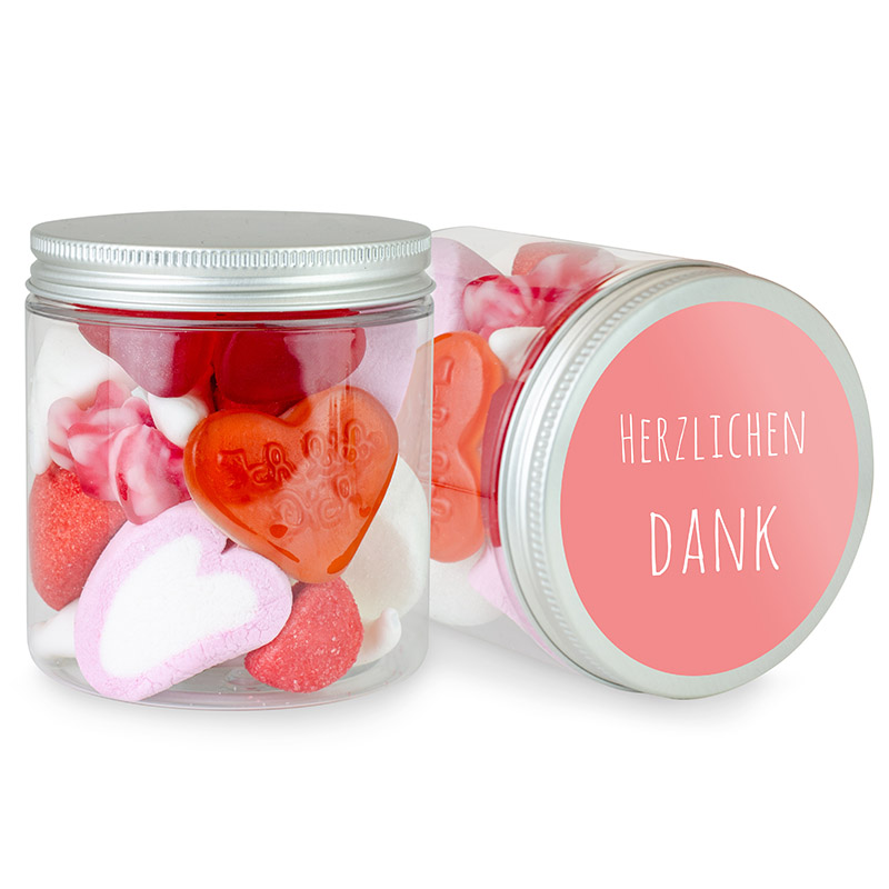 Fruchtgummi-Mix DANKE in der Dose