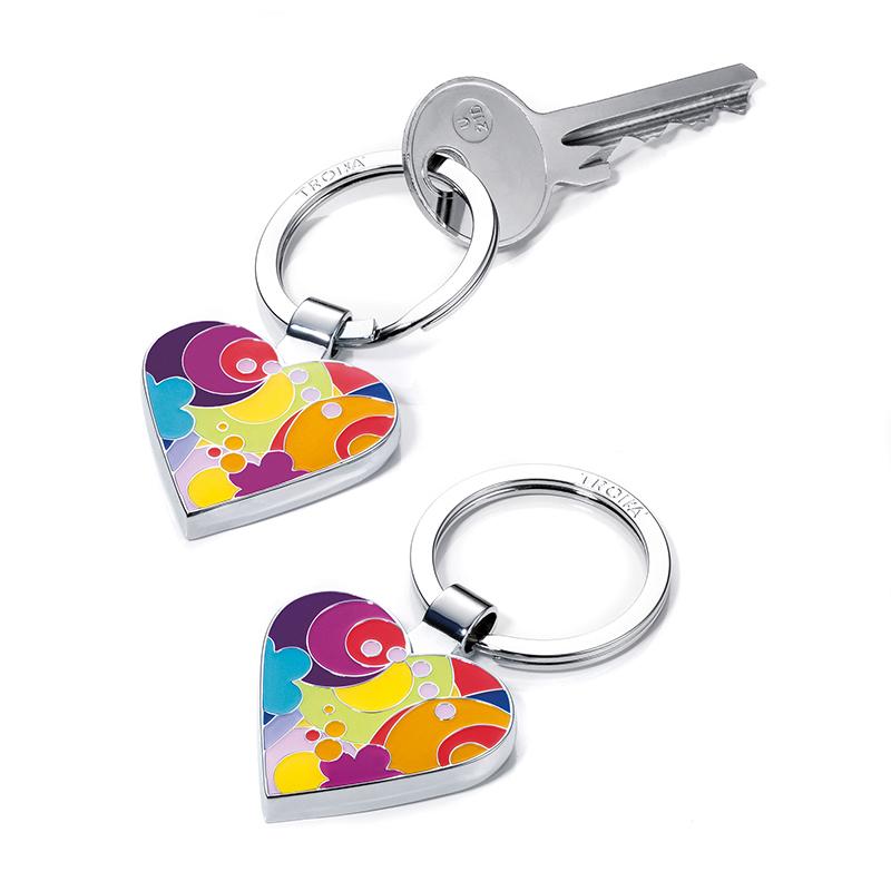 TROIKA Schlüsselanhänger I LOVE SHOPPING